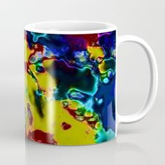 abstract cosmos fantasy 03 Mug by MehrFarbeimLeben Cosmos, Fantasy, Mugs, Abstract, Tableware, Dinnerware, Tumbler, Dishes, Outer Space