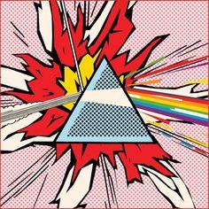 undeadgoathead:   Pop-art Pink Floyd. - OMG it's POP ART!