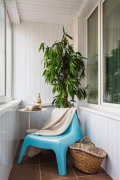 balcony decor, Anna Kovalchenko interiors
