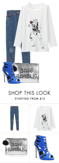 """""""Untitled #926"""" by faye-valentine ❤ liked on Polyvore featuring Uniqlo, Topshop and Chelsea & Zoe"""
