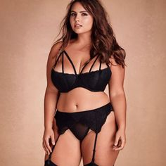 Sexy lingerie is hard to find in larger sizes, which is ...