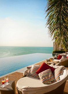 The splashiest new build in Panama is the waterfront Trump Ocean Club International Hotel & Tower, with Latin businessmen in the theatrical dining areas and slim couples in the infinity pools - Via Conde Nast Traveler