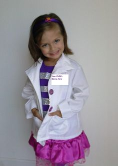 Doc Costume and Outfit 5 pcs  Doctor's coat by HandmadebyCatira,