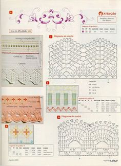 Puntillas crochet 2 - Liru labores textiles - Picasa Web Albums