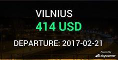 Flight from Miami to Vilnius by Aeroflot #travel #ticket #flight #deals   BOOK NOW >>>