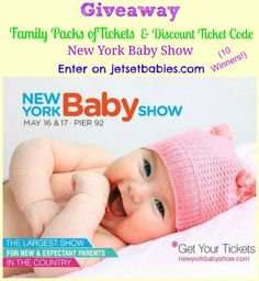 NY Baby Show is May 16-17 in NYC (+Giveaway - 10 Winners) | The Mama Maven Blog | #babies