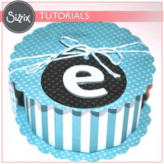 Sizzix Tutorial   Suprise Cookie Box by Stefani Khan