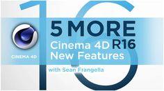 Cinema - 5 New Features Tutorial) - Sean Frangella New Cinema, Cinema 4d, 5 News, Learning, Tutorials, Top, Studying, Teaching, Crop Shirt