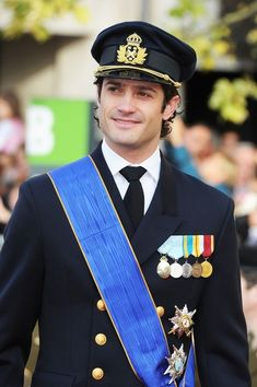 His Royal Highness Carl Philip, Prince of Sweden, Duke of Värmland.