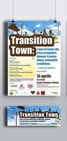 Conferenze sulle TRANSITION TOWN  #alpianodisottographic