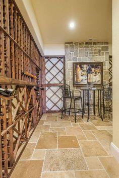 Wine Cellar With Plenty of Storage Mascord Plan 1329A - The Langley