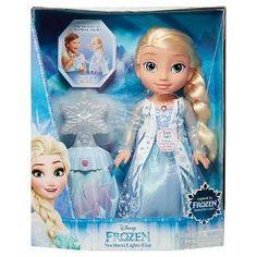Disney Frozen Northern Lights Feature Elsa Doll : Target