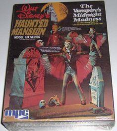 MPC Haunted Mansion Vampire's Midnight Madness kit