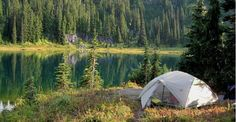 The 26 Best Places to Pitch a Tent in the U.S. | Greatist. I want to go to all of them!