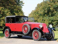 1925 Renault Type NM 40 CV Coupé de Ville by Kellner   Aalholm Automobile Collection 2012   RM Sotheby's