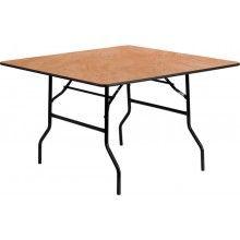 Square Plywood Folding Trestle Table