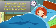 8 Natural Sleep Aids to Make You Sleep Like a Baby
