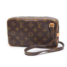 Louis Vuitton Pochette marly Bandouliere Monogram Cross body bags Brown Canvas…