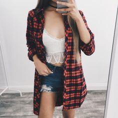 Samara Oversized Flannel – ootdfash
