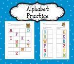 FREE! Alphabet Practice product from Sensational-Homeschooling on TeachersNotebook.com