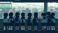 With 8-bit Tokyo GIFs, the Japanese illustratorToyoi Yuuta enjoys paying tribute to the sweetness of living in Tokyo with somebeautiful animated GIFs. A sof