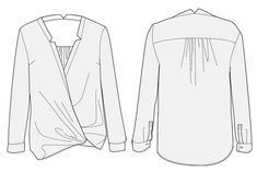 Couture : 10 blouses à coudre pour le printemps Couture, Blouse, Long Sleeve, Sleeves, Tops, Women, Fashion, Spring, Moda