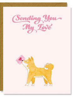 Shiba Inu Love Shiba Inu, Shiba Puppy, Hachiko, Dog Logo, Akita, Good Thoughts, Traditional Art, Boyfriend Gifts, Cute Animals