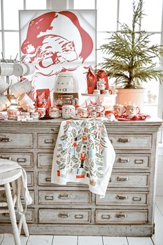 Christmas Time Is Here, Merry Little Christmas, Winter Christmas, Christmas Home, Christmas Ideas, Holiday Ideas, Santa Decorations, Christmas Party Decorations, Holiday Decorating