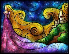 ***Looking for the artist so they get credit.. anyone know?*** Rupunzel