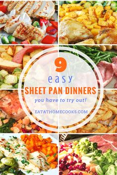9 Easy Sheet Pan Dinners Your Family Will Love - Eat at Home