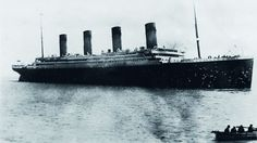 Titanic – Last known photo before leaving port.