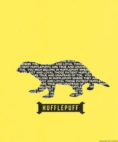 Nice badger silhouette with Hufflepuff qualities! Harry Potter Puns, Harry Potter Marauders, Harry Potter Room, Harry Potter Houses, Albus Dumbledore, Hogwarts Houses, Hufflepuff Pride, Hogwarts Crest