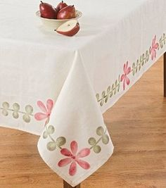 Stenciled Tablecloth: Fabric Crafting Projects: Shop | Joann.com