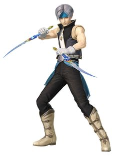 m Half Elf Rogue Thief urban town Dual Short Swords Locke, Devoted Returner II Outfit from Dissidia Final Fantasy NT Character Poses, Game Character Design, Character Art, Fantasy Star, Final Fantasy Vi, Dual Swords, Sword Poses, Male Elf, Sword Drawing