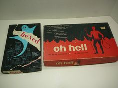 Oh Hell Its Hexed vintage Puzzle and Game 1970s by CircaCompany, $9.00