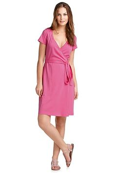 Wrap-over jersey dress from Esprit, only 29.95 €.