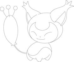 Skitty Coloring Page From Generation III Pokemon Category Select 28436 Printable Crafts Of Cartoons Nature Animals Bible And Many More