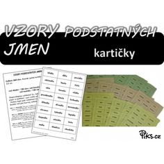 Produkt - Já mám - urč. podstatných jmen Word Search, Periodic Table, Words, Literatura, Biology, Periodic Table Chart, Periotic Table, Horse