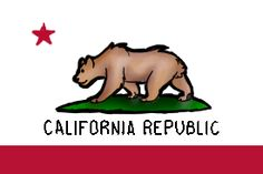 California Flag Thingy Bear Drawing From Deviantart