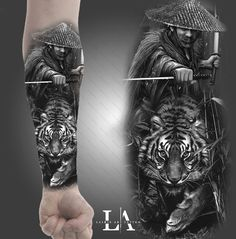 Wicked Tattoos for Men . Wicked Tattoos for Men . Pin On Style Samurai Tattoo Sleeve, Forearm Sleeve Tattoos, Tattoo Sleeve Designs, Tattoo Designs Men, Leg Tattoos, Arm Band Tattoo, Body Art Tattoos, Tattoos For Guys, Warrior Tattoos
