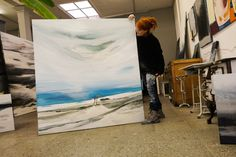 Abstrakte Malerei-Auftragsmalerei – Conny Niehoff-Malerei Francis Bacon Studio, Abstract, Artwork, Painting, Abstract Pictures, Painting Abstract, Kunst, Summary, Work Of Art