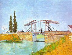「アルルのはね橋」 1888    Wallraf-Richartz-Museum