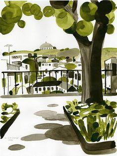 Sketchbook Portugal – Christoph Niemann
