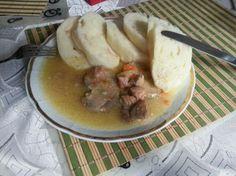 Bravčové mäso s knedľou