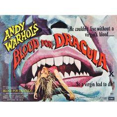 Andy WarholS Young Dracula Canvas Art - (28 x 22)