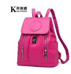b909a035360cb 100% Genuine leather Women backpack 2016 new backpack embossed fashionista  new spring and summer fashion leisure Korean women