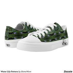 Water Lily Pattern, Printed Shoes from HomeWare.