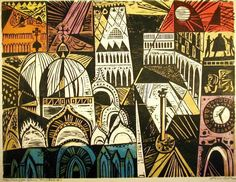 One of these woodcuts, Piazza San Marco #4 and its four woodblocks constitute a permanent exhibit of block printing in colour at the Smithsonian Institution. Description from poulwebb.blogspot.co.uk. I searched for this on bing.com/images