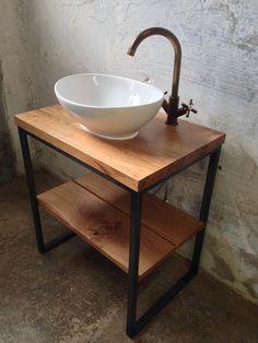 Barrel Furniture, Diy Furniture, Furniture Design, Best Kitchen Designs, Bathroom Interior Design, Minimalist Home, Industrial Furniture, Bathroom Inspiration, Diy Kitchen