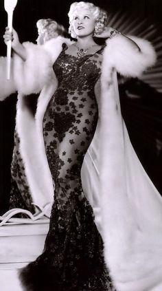 Mae WEST- thats a dress...only from afternoon tv